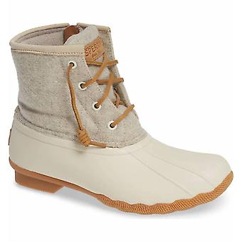 Sperry Womens Saltwater Duck Booties Closed Toe Ankle Fashion Boots