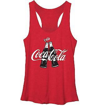Coca-Cola Coke Clink Red Juniors Racerback Tank Top