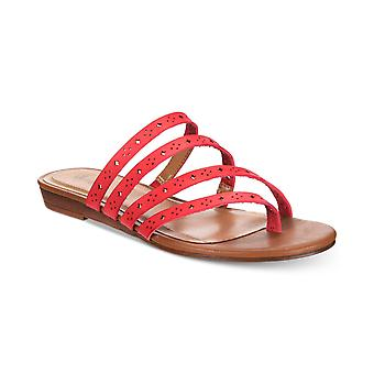 Style et Cie Femmes Barrees Open Toe Casual Strappy Sandals