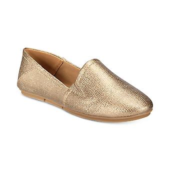 Style & Co. Womens Nixine Fabric Almond Toe Loafers