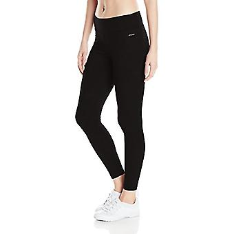 Jockey Women-apos;s Plus SizeAnkle Legging avec Wide Waistband, Deep Black, Taille 1X