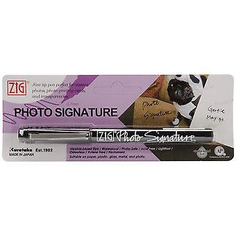 Zig Photo Signature Marker Packaged Black Ps220p 010