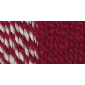 Wool Ease Thick & Quick Yarn Crimson Stripes 640 602