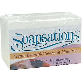 Soapsations Soap Block 1 Pound Glycerine 600000