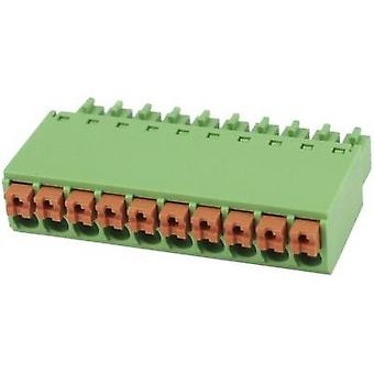 Pin enclosure - cable Total number of pins 3 Degson 15EDGKN-3.5-03P-14-00AH Contact spacing: 3.5 mm 1 pc(s)