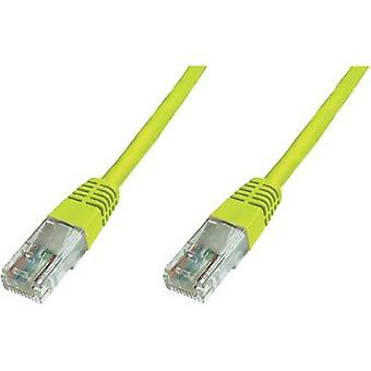 Patch cord CAT 6 U/UTP Yellow