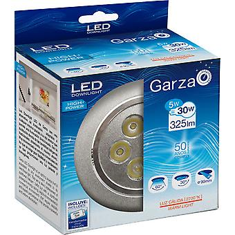 Garza Recessed 5W Led Hp 60 350Lm Aluminum 27K (Home , Lighting , Light bulbs and pipes)