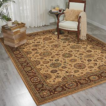 Living Treasure Rugs By Nourison Li05 In Beige