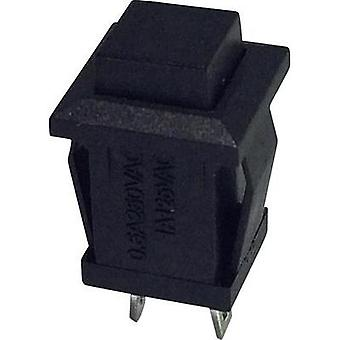 Pushbutton 250 Vac 0.5 A 1 x On/(Off) SCI R13-57B-05 BLACK ACTUATOR momentary 1 pc(s)