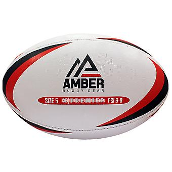 Amber Sporting Goods X-Premier Match Training league Rugby Ball Size 5