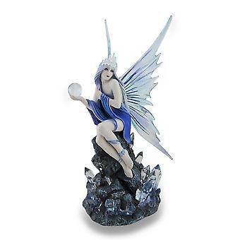 Энн Стокса Stargazer синий и фиолетовый фея статуя