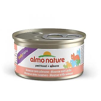 Almo Nature Daily Menu Cat Mousse With Salmon 85g (Pack of 24)