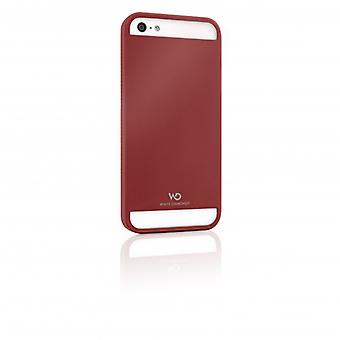 White DIAMONDS Shell Metal iPhone 5/5s/SEE Red