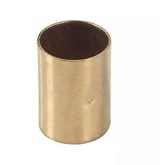 Lige rør montering af muffe kobber-stik lodde 22x22mm vandet Installation