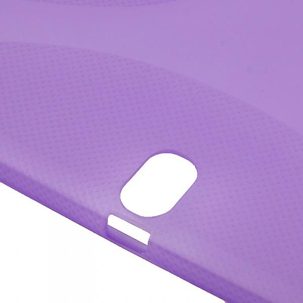 Protective case purple for Samsung Galaxy touch 10.1 P600 P605 LTE + foil
