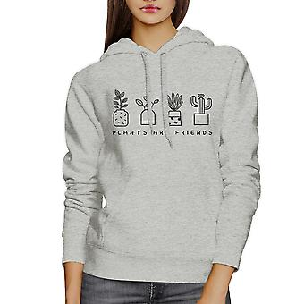 Plants Are Friends Lovely Graphic Design Hoodie For Plant Lovers