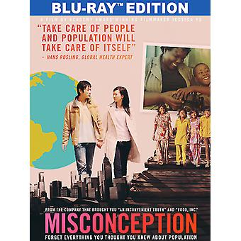 Misconception [Blu-ray] USA import