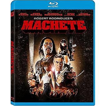 Machete [Blu-ray] USA import