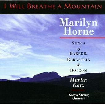 Marilyn Horne - I Will Breathe a Mountain [CD] USA import