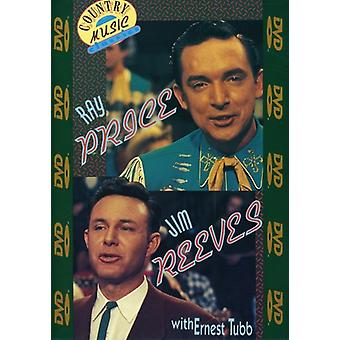 Jim Reeves & Ray Price [DVD] USA import
