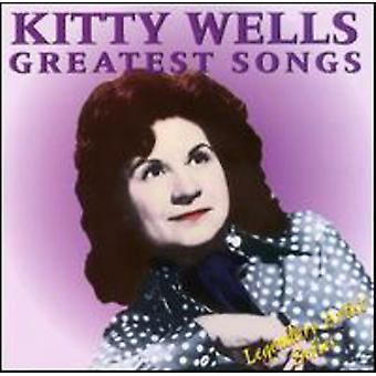 Kitty Wells - Greatest Songs [CD] USA importerer
