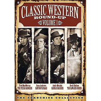 Classic Western Round-Up - Classic Western Round-Up, Vol. 1 [2 Discs] [with Movie Cash] [DVD] USA import