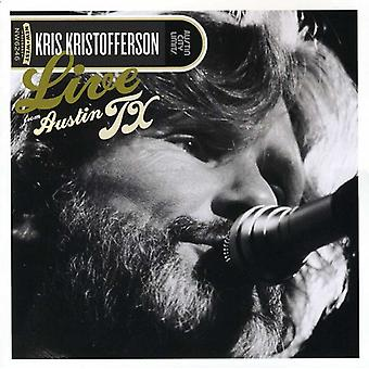 Kris Kristofferson - Live från Austin Texas [CD] USA import