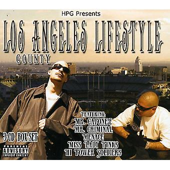 Hpg Presents - Los Angeles County Lifestyle (Box Set) [CD] USA import