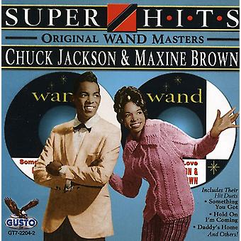 Chuck Jackson & Maxine Brown - Super Hits CD] USA import