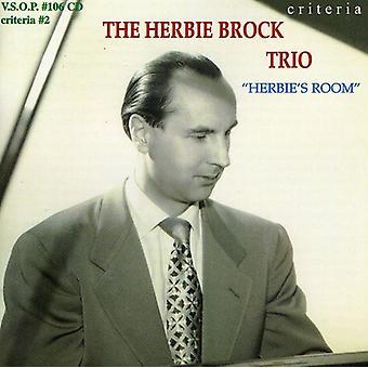 Herbie Brock Trio - Herbie's Room [CD] USA import