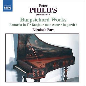 P. Philips - Peter Philips: Harpsichord Works [CD] USA import