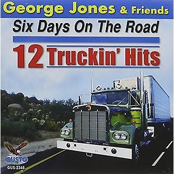 George Jones - seks dage på vejen: 12 Truckin Hits [CD] USA import