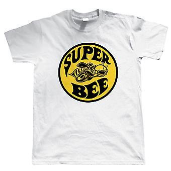 Super Bee, Mens amerikanska muskel bil T Shirt
