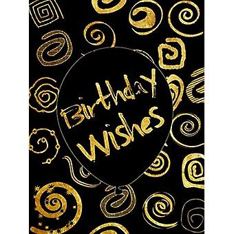 Golden Birthday Wishes Poster Print by Sheldon Lewis
