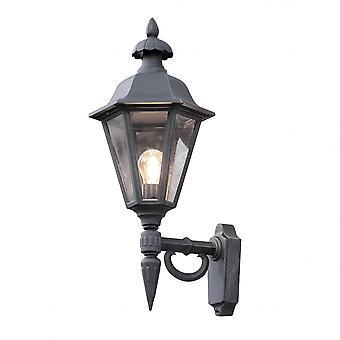 KONSTSMIDE Pallas portico del Victorian Nero Lanterna