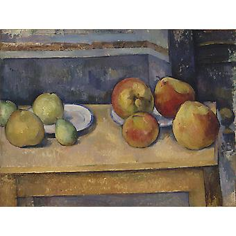 Paul Cezanne - Still Life with Apples and Pears Poster Print Giclee