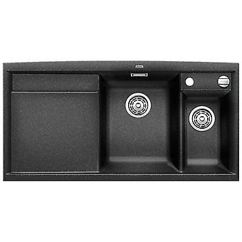 Blanco Axia Ii 6S sink and drainer anthracite with left
