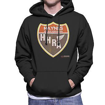 Haynes Hot Rod Association mannen Hooded Sweatshirt