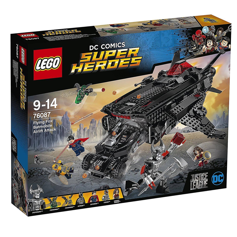 LEGO Super Heroes 76087 roussette  Batmobile Airlift attaque jouet