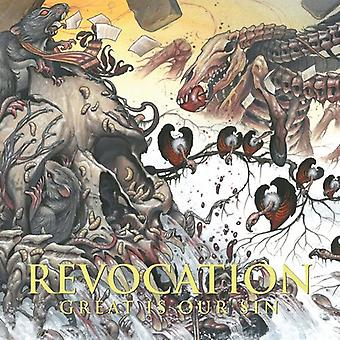 Revocation - Great Is Our Sin [CD] USA import