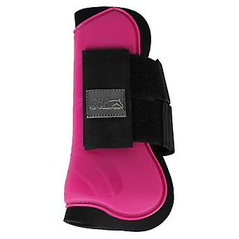 QHP Tendon Protector Fuschia (Horses , Horse riding equipment , Legs and tail , Covers)