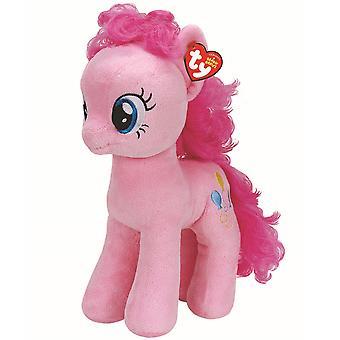 """TY 16 """"plysch min lilla ponny Pinkie Pie stor kompis"""
