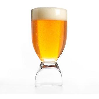 Bigbuy Beer glass with shot (Kitchen , Household , Cups and glasses)
