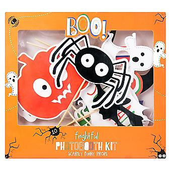 Halloween Party Pack 10 of Fun Photo Props Selfie Photo Booth Accessories