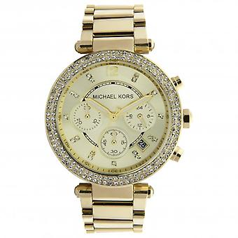 Michael Kors Watches Mk5354 Gold-tone Women's Chronograph Watch
