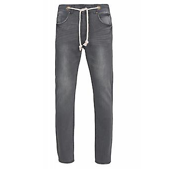 SOMeWEaR trousers mens Jeans Grau with belt strap