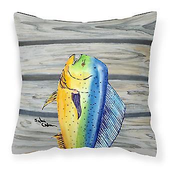 Carolines Treasures  8470PW1414 Mahi Mahi Dolphin Fish Fabric Decorative Pillow