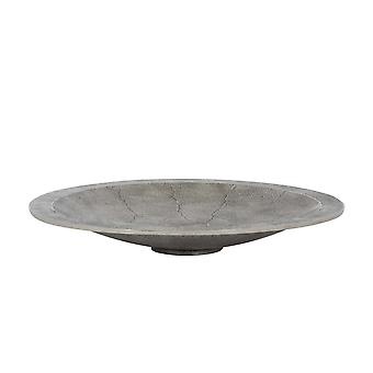 Light & Living Dish Ø49x7 Cm TJORE Raw Antique Nickel