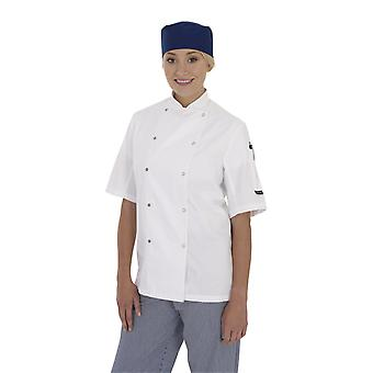 Dennys Short Sleeve Chefs Jacket-DD08S
