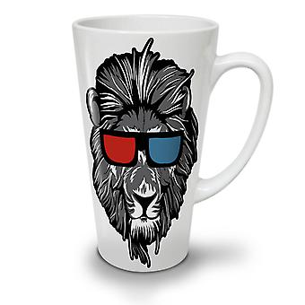 Lion Swag Cool Animal NEW White Tea Coffee Ceramic Latte Mug 17 oz | Wellcoda